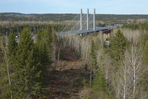 Nipigon River bridge. Photo by Karen Richardson