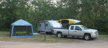 Karen Richardson's travelling and camping rig