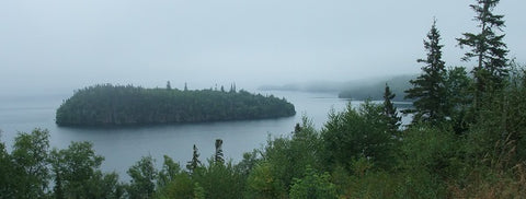 Lake Superior viewed from Rossport, Ontario, photo by Karen Richardson