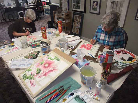 Watercolour Workshop taught by Karen Richardson