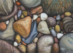 Newfoundland Beach, watercolour by Karen Richardson