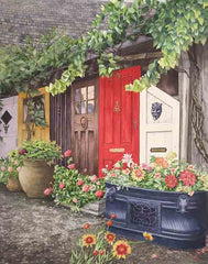 Elora Doors Giclee Prints by Karen Richardson