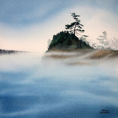 Drifter's Dream, watercolour by Karen Richardson