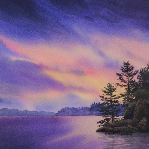 The Place I Belong, watercolour by Karen Richardson