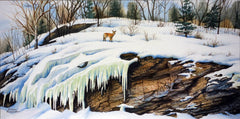 Frozen Two watercolour by Karen Richardson