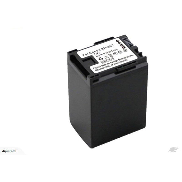 Canon BP-827 Replacement Battery Compatible Replacement