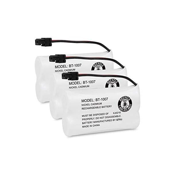3-packs Part Number BT-1007 Replacement Battery Compatible Replacement