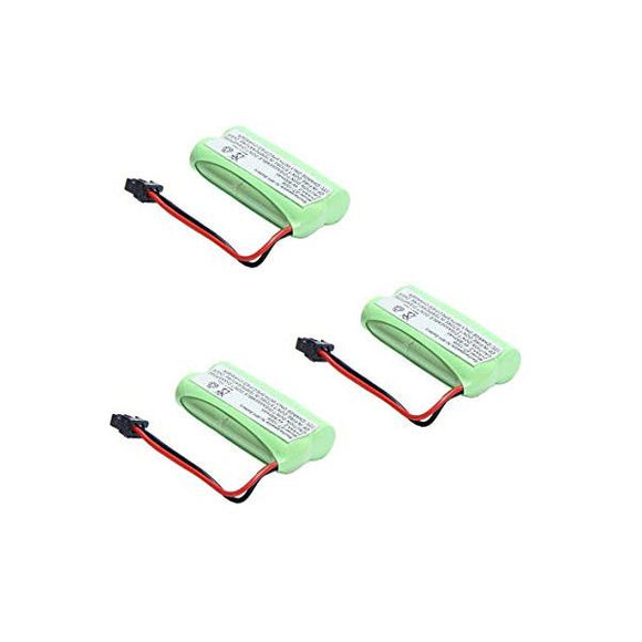 3-packs Sanyo CAS-D6325 Replacement Battery Compatible Replacement