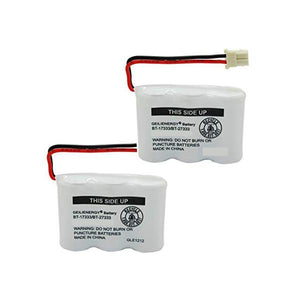 2-packs VTech BT-17233 Replacement Battery Compatible Replacement