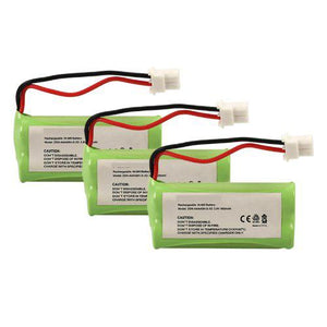 3-packs GE 2-8214 Replacement Battery Compatible Replacement