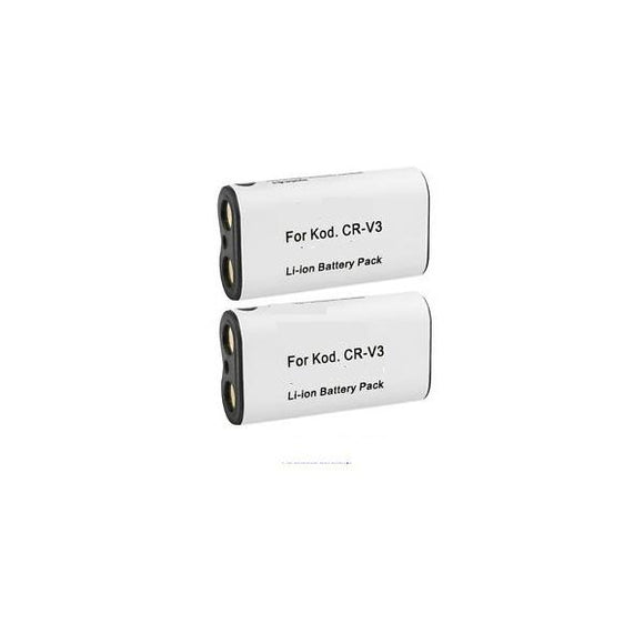 2-packs Part Number CR-V3 Replacement Battery Compatible Replacement