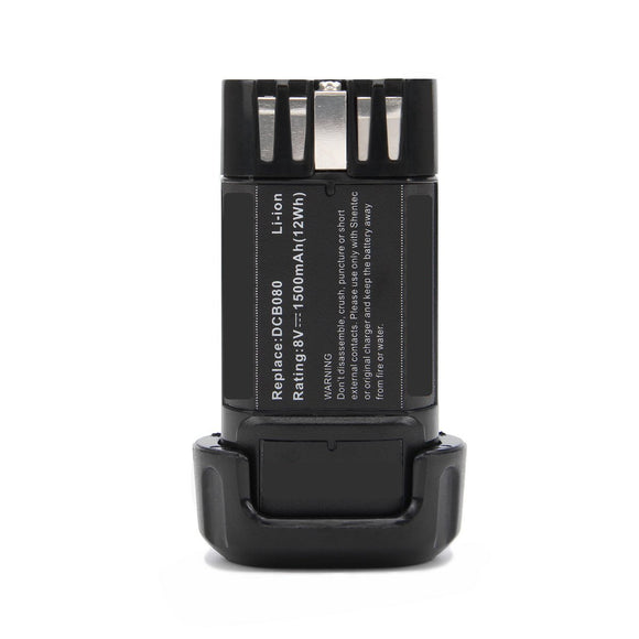 Part Number DCB080 Battery Compatible Replacement