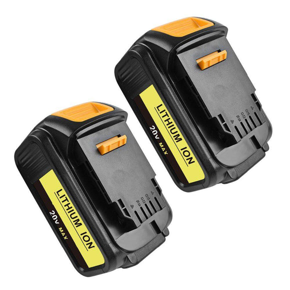 2-packs DEWALT DCG412 Battery Compatible Replacement