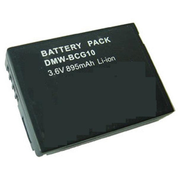 Panasonic DMC-TZ8 Replacement Battery Compatible Replacement