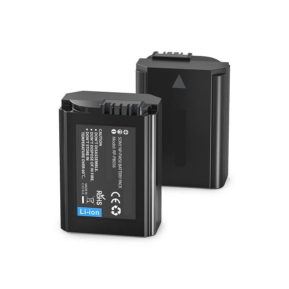 2-Packs Sony  NEX-5D Replacement Battery Compatible Replacement