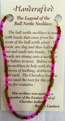 Bull Nettle Teething Necklace