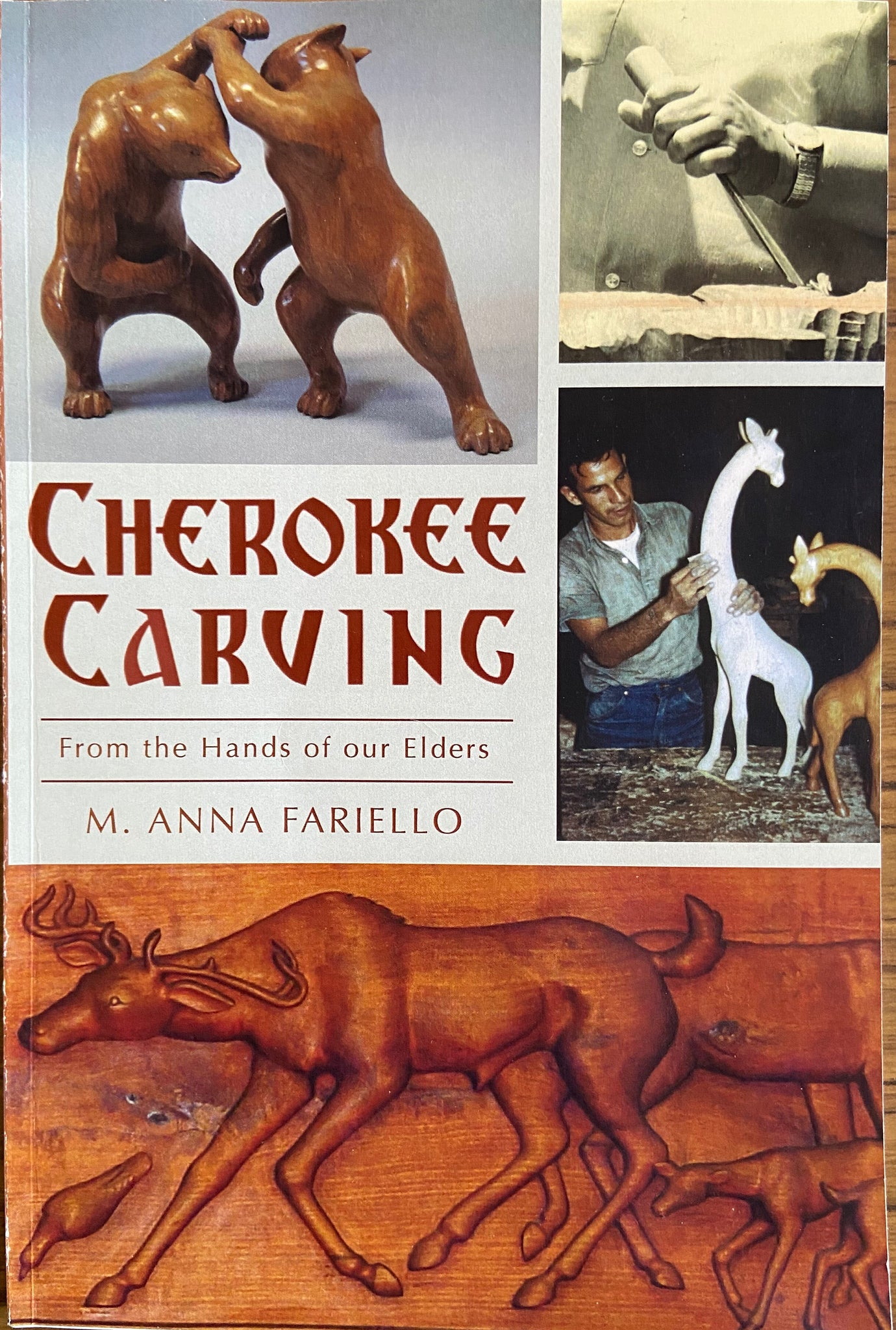 Cherokee Carving - From the Hands of our Elders