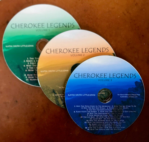 Cherokee Legends CD recordings