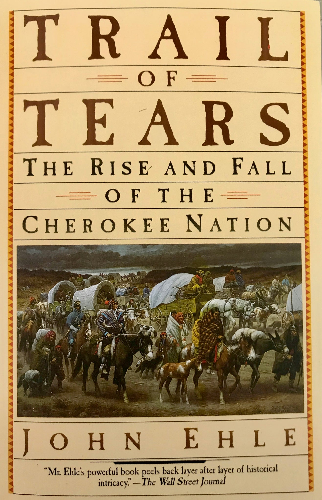 Trail of Tears - The Rise and Fall of the Cherokee Nation