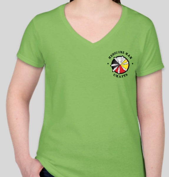 Women's Medicine Man Crafts Logo T-Shirt