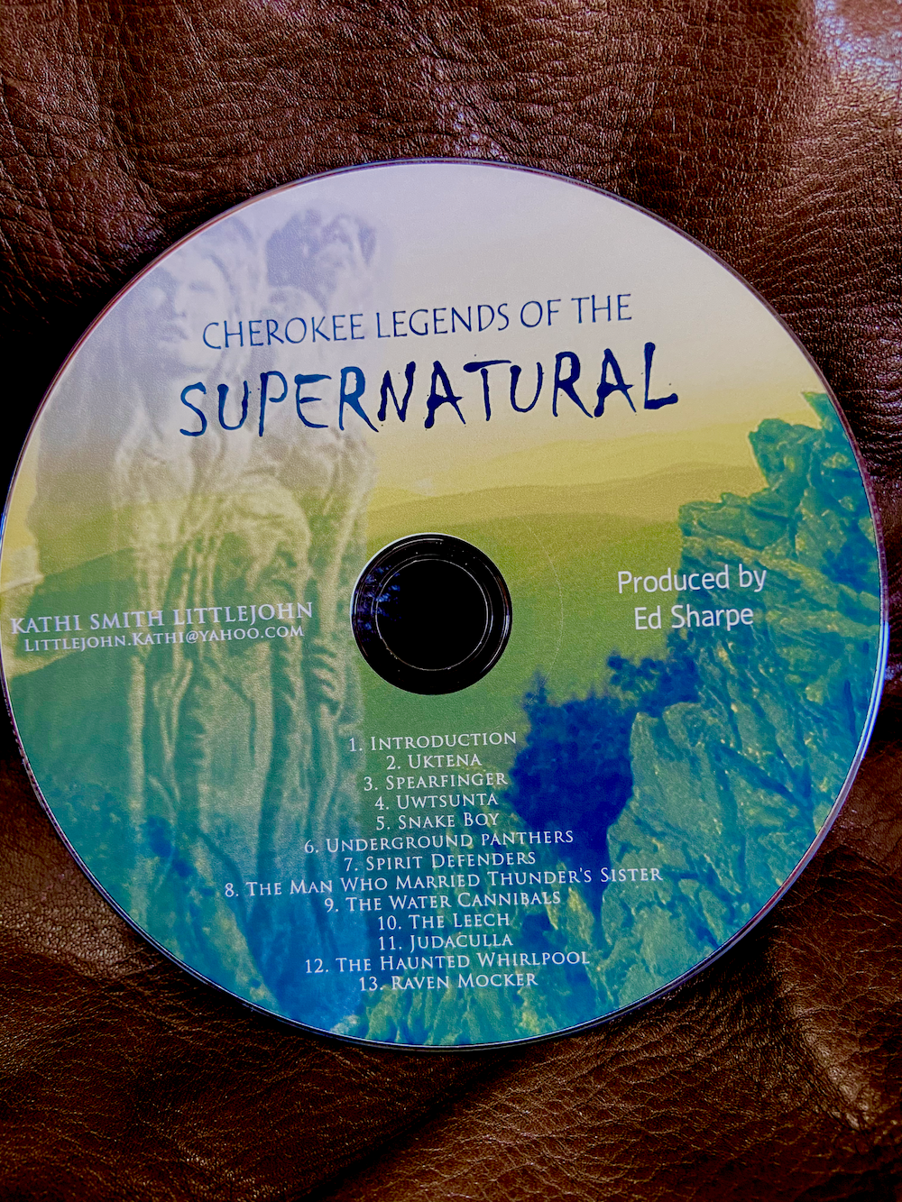 Cherokee Legends 0f the Supernatural - CD recording