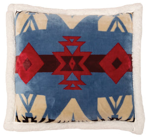 Blue River Plush Sherpa Pillow