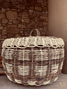 Basket with Lid, Megan Wachacha