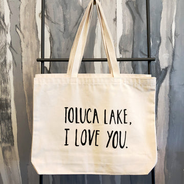 Toluca Lake, I Love You Tote Bag