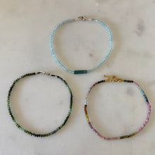 the delicateness of        bracelets