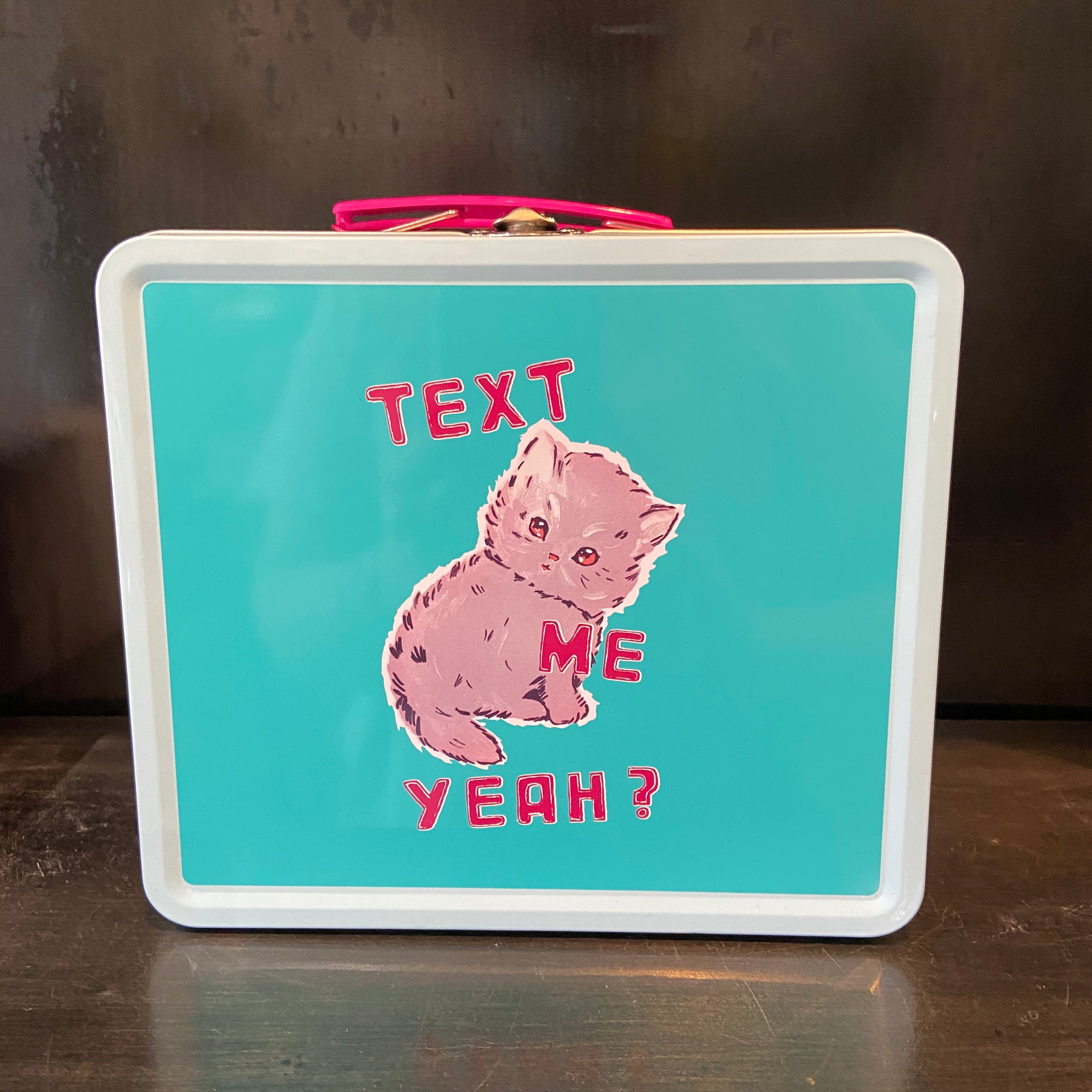 pink kitty        lunch box
