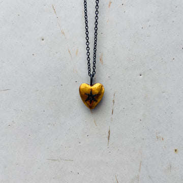 heart of hearts.     necklace