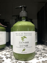 BELLE DE PROVENCE olive and menthe hand and body lotion