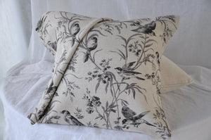 Fabricut Aviary Toile Cushion Cover