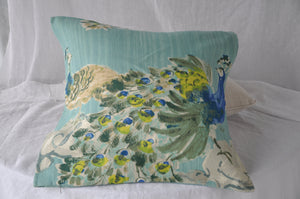 Jim Thompson Peacock Cushion Cover