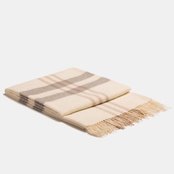 Plaid Eco Scottish Throw