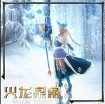 LoL Soraka Winter Wonder Skin Cosplay Costume