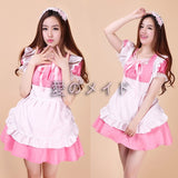 8 Colors Lolita Maid Dresses Meidofuku Cosplay S-XXL