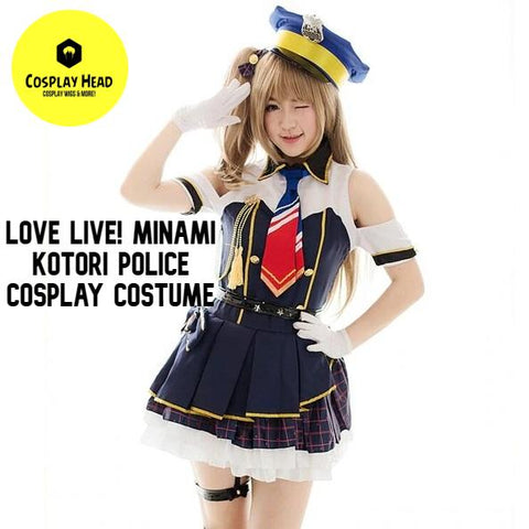 Love Live! School Idol Project LL Minami Kotori Police Uniform Full Set