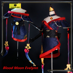 LoL Evelynn the Widowmaker Blood Moon Cosplay Costume