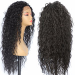 "Curly Black Disney ""Moana"" Lace Wig"