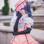 Black Butler Ciel Phantomhive Kuroshitsuji Palace Dress Cosplay Costume (Dress+hat+gloves+neck)