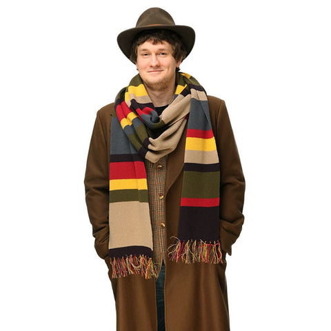 Doctor Who Tom Baker 4th Doctor Striped Scarf