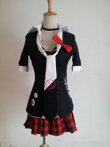 Danganronpa Junko Enoshima Trigger Happy Havoc Cosplay Costume