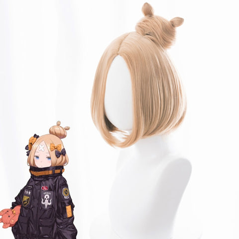 Fate Grand Order Abigail Williams Cosplay Wig + Cap