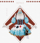Fate Grand Order Anne Bonny Halloween Cosplay Costume