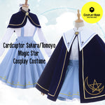 Cardcaptor Sakura Tomoyo Daidouji Sakura Magic Star Cosplay Costume