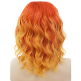 Orange/Yellow Ombre Lace Front Wig