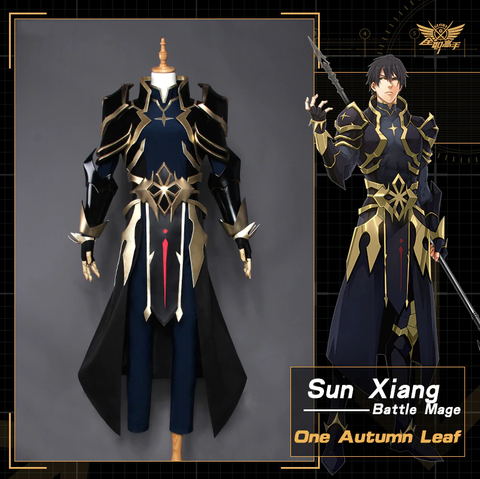 The King's Avatar Sun Xiang SHARPSHOOTER One Autumn Leaf Cosplay Costume