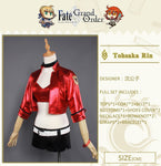 Rin Tohsaka Anime Fate Grand Order TYPE-MOON RACING VER. Cosplay Outfit