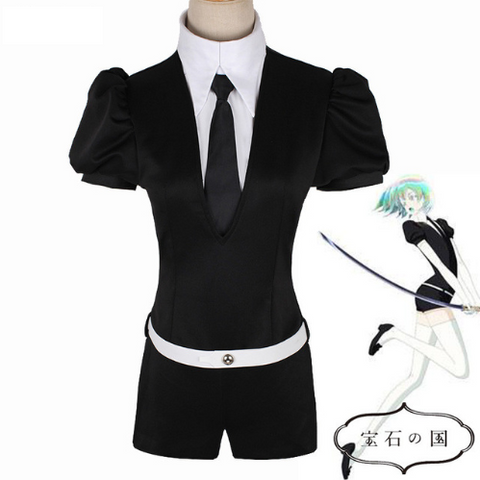 Houseki no Kuni Land of the Lustrous Phosphophyllite Diamond Playsuit Cosplay